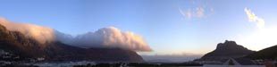 Southeaster over Hout Bay